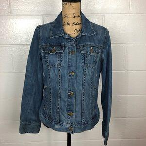 Old Navy denim jean jacket button up large
